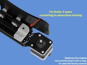 Ender 3 Sensorless Y Endstop