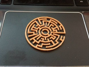 Maze circle generator