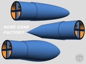 Customizer - Model Rocket Nose Cone Factory