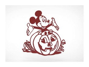 Halloween Day Mickey Mouse Decoration