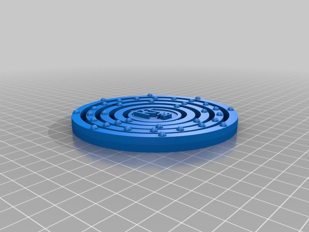 Krypton Atom Bohr Model By Dakimchi Thingiverse