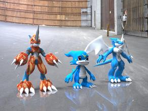 Veemon Evolution Base