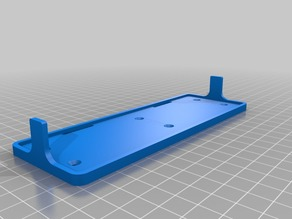 FPV/Drone battery tray (parameterized)