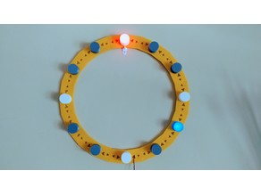 LED Segmented Clock