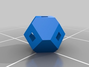 My Customized Anti-Warping Block, Truncated Octahedrons