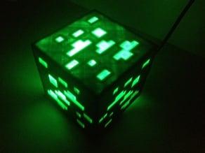 Minecraft Ore Night Light