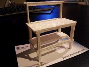Printable Mini Work Bench