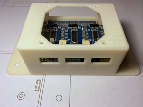 Grbl Shield CNC Controller Enclosure