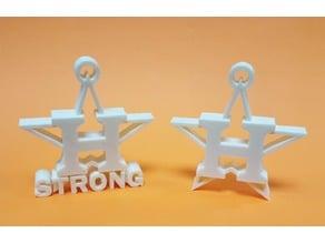 Astros Strong Keychain/Emblem