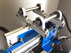 Full metal spool holder for aluminium extrusions - OrdBot