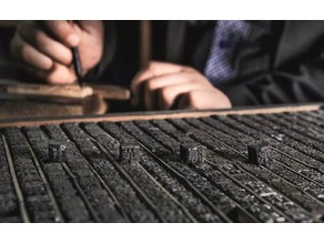 The kit of Wooden movable-type printing of China
