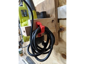 Shop tool cable holder