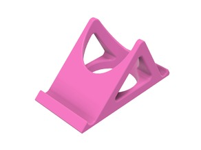 Double angle phone stand
