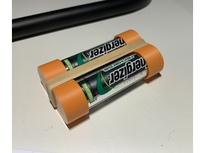 Really Simple AA Battery End Caps