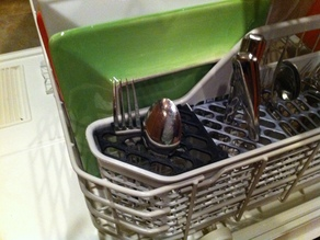 << Outdated: see revision>> Silverware Dishwasher Basket Replacement Grate