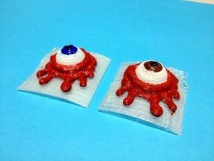 Droog cuff eyeball (A Clockwork Orange)