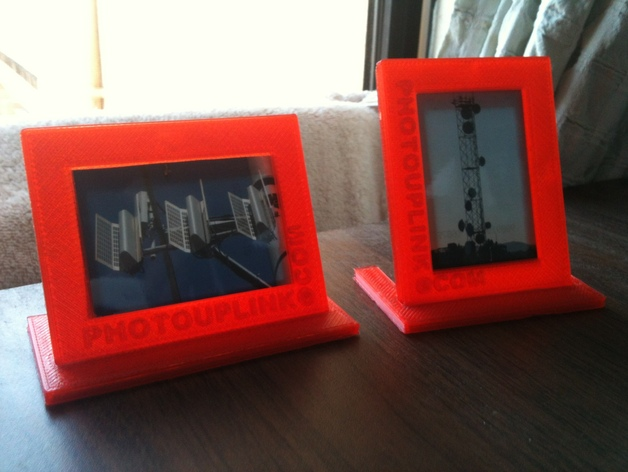 photouplinkcom 3d printed picture frame 1 by mmorrisdev thingiverse