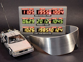 Adafruit BTTF Time Circuit Case