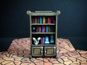 Delving Decor: Wizard's Shelf