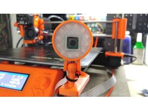 Raspberry Pi Camera Case w/ NeoPixel Ring (12 LED)