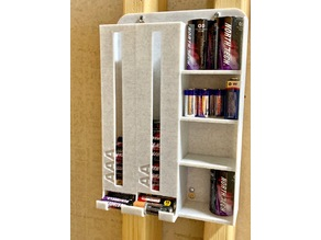 Another wallmount battery dispenser