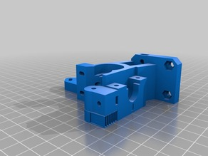 Modified Jhead Compact Extruder for I3 Rework