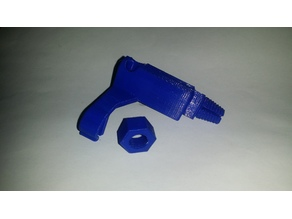 Filament Guide/Cleaner w/ Cable Clip and PTFE Coupler