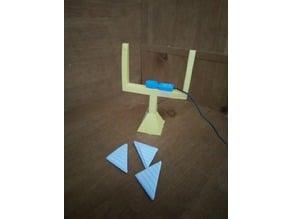 Football Goal Post Motion Sensor 3D Printed