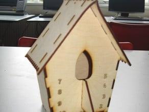 Cuckoo Birdhouse Sundial