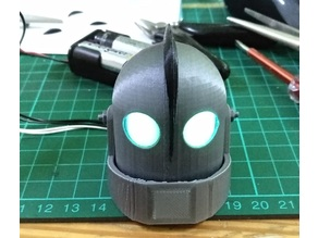 Iron Giant Head for LED installation