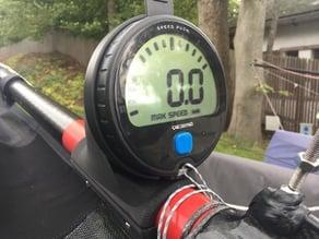 Velocitek Speedpuck GPS mount v4 for Whisper catamaran (or cats with approx. 44mm gennaker pole)