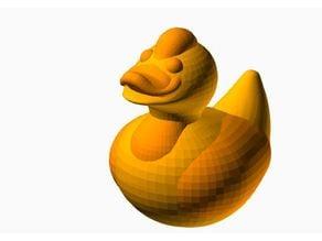 QuackBirdie 2 - All OPENSCAD