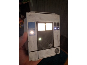Poe Dameron chest box (with 3mm LED lights)