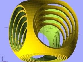 Parametric Gyro Cube