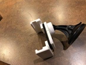 Adjustable Phone Mount With Garmin 17mm ball Mount