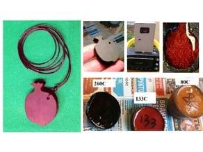 Bakelite Jewelry (3d printed)