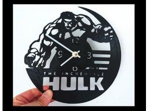 Reloj HULK vinilo