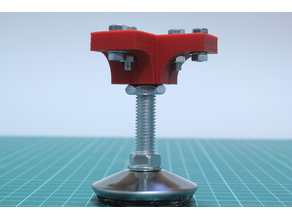 Foot mount for Aluminum Extrusion (20mmx20mm)