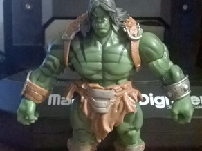 "Marvel Universe "" Skaar "" Action figure 3D scan ( MakerBot Digitizer )"