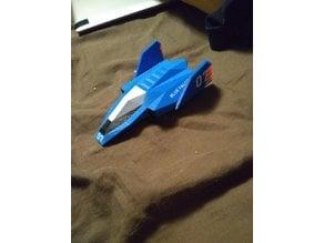 Blue Falcon multi color print F-zero