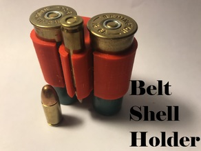Belt Shell Holder for 12 gauge & .223 Rem/9mm