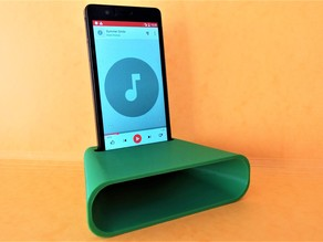 Phone amplifier pasive speaker