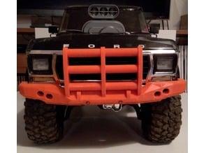 TRX-4 Bronco truck front bumper + mount remix