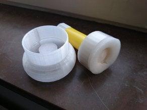 Glue-Stick Moist Application Sponge Holder (G-SMASH)