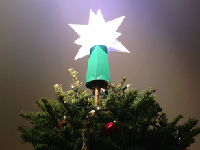 Christmas Tree Topper Star Base