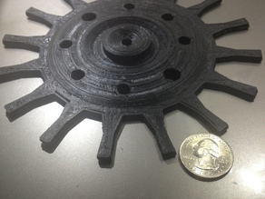 large 6 inch decrotive gear