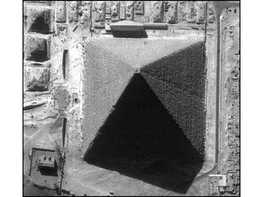 True dimensions of great 8 sided Pyramid of Giza