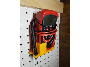 Multimeter Pegboard Holder