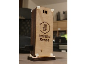 balenaSense laser-cut case