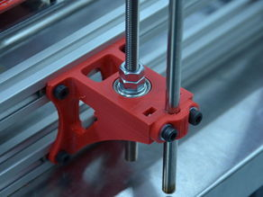 MendelMax Z axis mounts and clamp